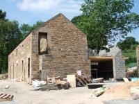 East gable end taking shape